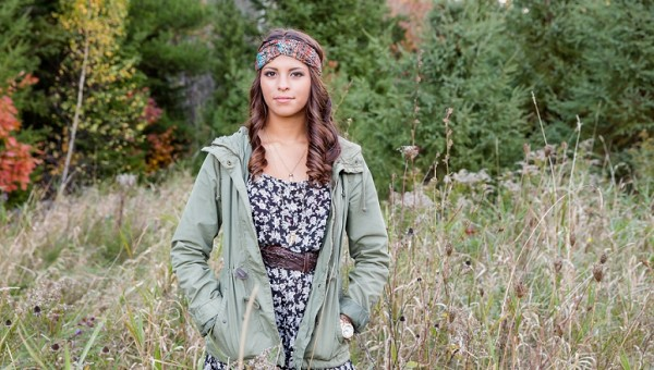 Bangor City Forest Maine Senior Portrait Photographer Augusta High School Glamour Pictures
