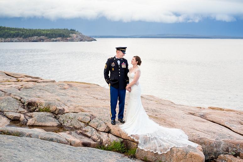 Photography by Bar Harbor Wedding Photographer