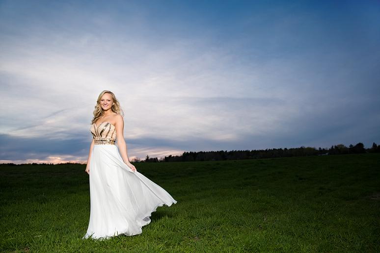 John Bapst High School Bangor Maine Senior Studio Portrait Photographer Modeling Glamour