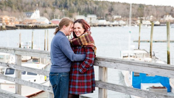Winter Boothbay Harbor Engagement Session, Maine Wedding Engagement Photographer, Coastal Engagement Photography, Maine Wedding Engagement Photography, New Hampshire Wedding Photographer, Vermont, Portland, York, Massachusetts Wedding Photography