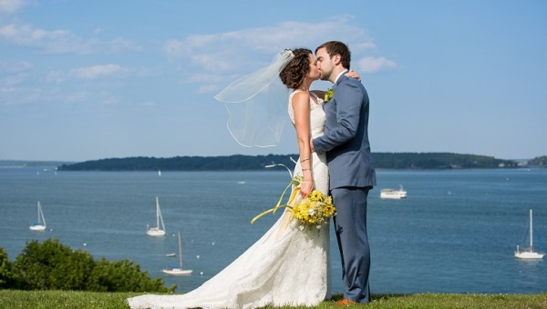 Portland Maine Wedding Photographer Ocean Gateway Eastern Promenade Outdoor Wedding