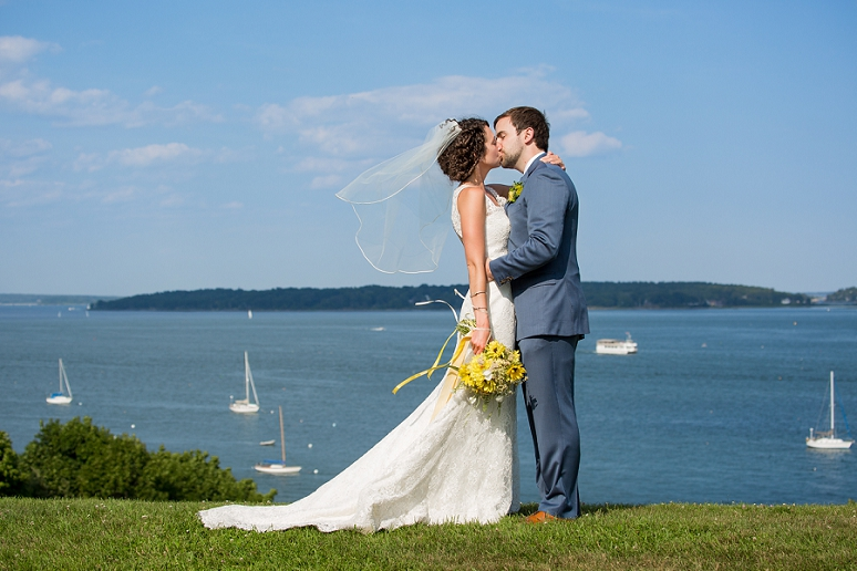 Gina and Brendan&#8217;s Wedding Pictures at</br>the Ocean Gateway in Portland, Maine