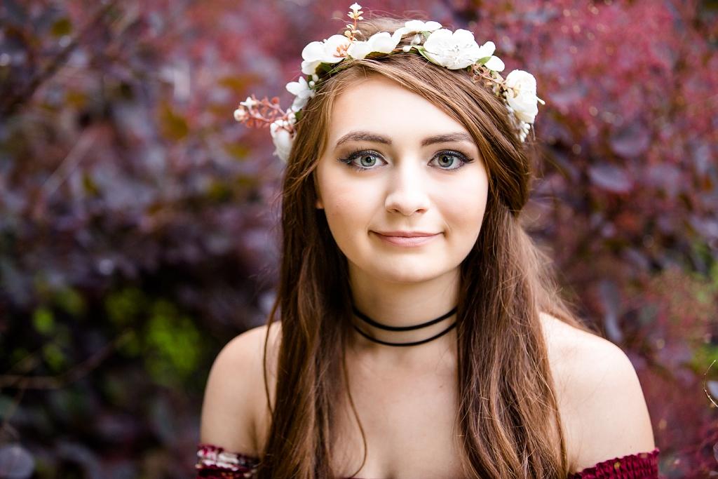 Photography by Messalonskee Maine Senior Portrait Photographer