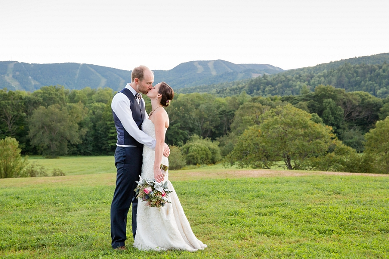 Heather and Brendan&#8217;s Wedding at</br>the Mountain House on Sunday River