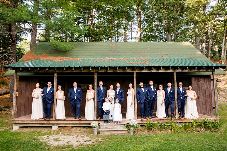 Photography By Maine Camp Wedding Photographer