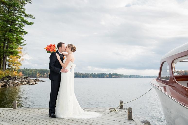 Portland Maine Wedding Photographer Migis Lodge Coastal Fall Rustic Wedding Sebago Lake