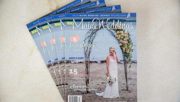 Published Photographer Real Maine Weddings Magazine July 2016