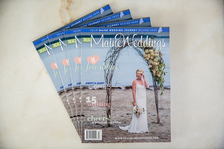 Featured in Real Maine Weddings</br>July 2016 Issue