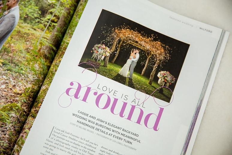 Published Maine Wedding Photographer