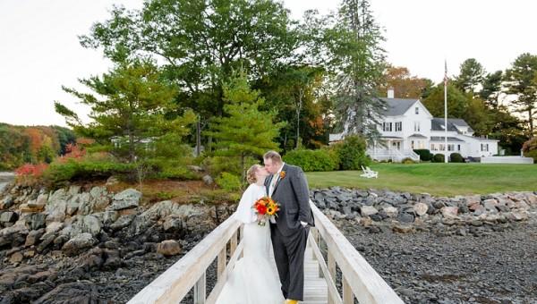 Dockside Restaurant York Maine Wedding Photographer Coastal Movie Themed Wedding
