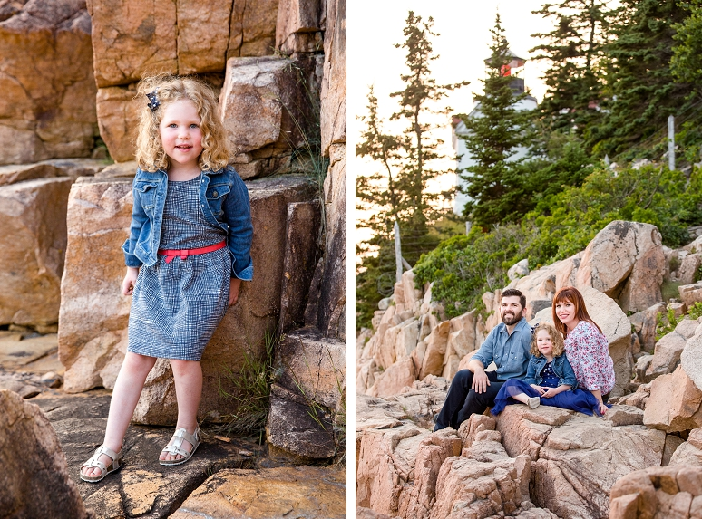 Photography by Acadia National Park Maine Family Portrait Photographer